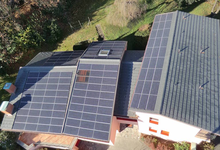 Impianto fotovoltaico Pregassona