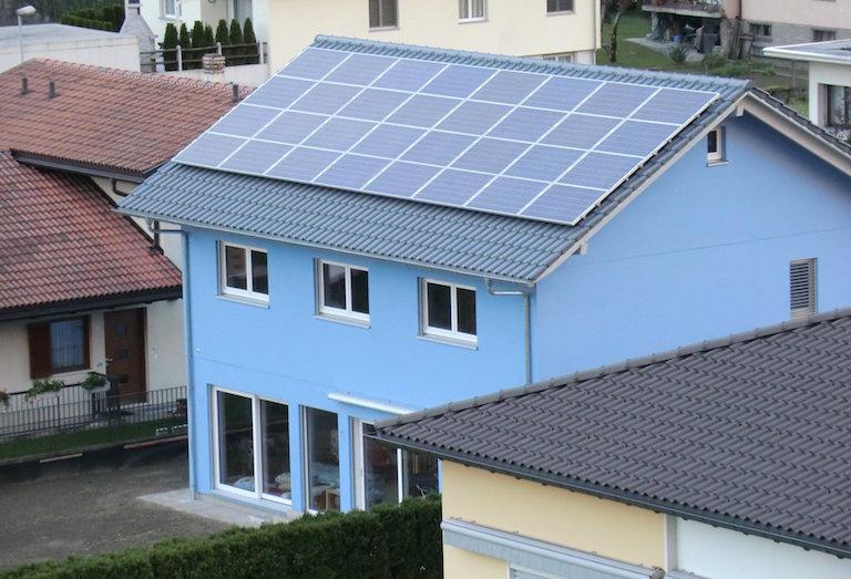 Impianto fotovoltaico ad uso domestico